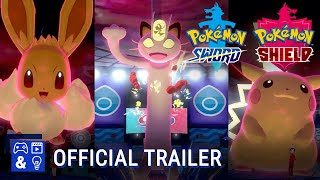 Pokémon Sword and Pokémon Shield Gameplay Trailer - Gigantamax Pokemon are coming!