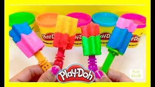 Learn Colors With Play-Doh Ice Cream Toys Educational Learning Video For Kids
