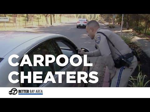 CHP catches carpool, express lane cheaters