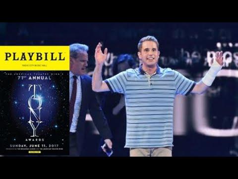 Dear Evan Hansen - Live Tony Awards 2017 - Waving Through a Window