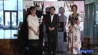 タレントのスザンヌさんが1月29日、東京・丸の内の新丸ビルで行われた熊...