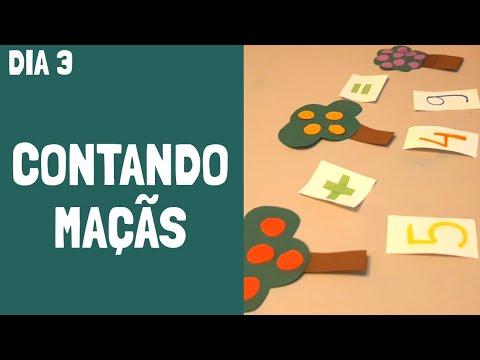MÃERENTENA 😜 - CONTANDO MAÇÃS - ATIVIDADES PARA A QUARENTENA - Ana Prado