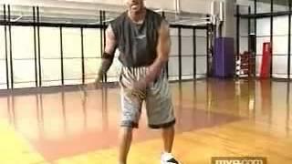 Урок баскетбола от Майкла Джордана. Защитная стойка