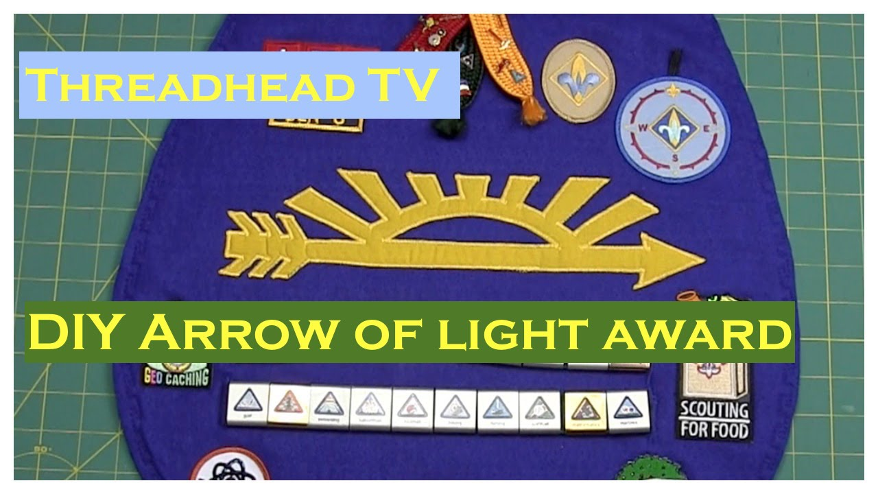 cub award light lighting activities lamps plaque awards arrow images scout of