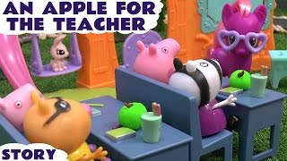 peppa pig play doh mlp ponyville toy story my little pony school thomas the train naughty george