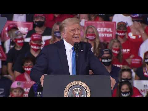 President Trump Hosts, 'Great American Comeback Event,' In Jacksonville, Florida
