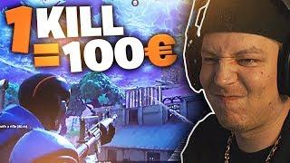 100 Euro für einen Kill | Fortnite | SpontanaBlack