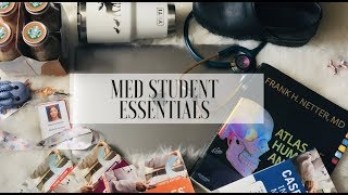 MED STUDENT MUST-HAVES and ESSENTIALS!