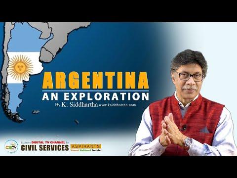 Argentina An Exploration   K.Siddhartha   CSTV