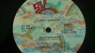 Leroy Burgess - Heartbreaker