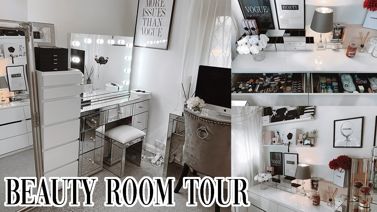 BEAUTY ROOM TOUR 14!!!! ✨ FINALLY!