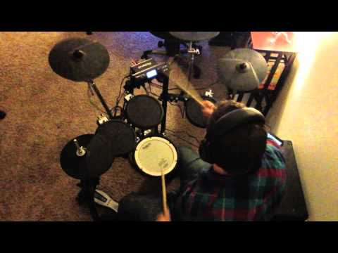 A Wolf Descends Upon the Spanish Sahara (drum cover) mp3