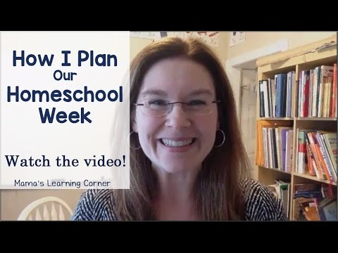 How I Plan Our Homeschool Week