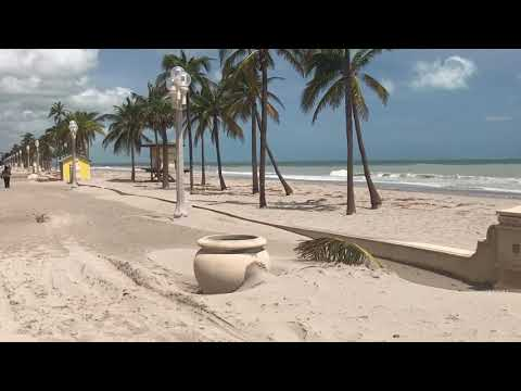 Hollywood Beach Florida After Hurricane Irma