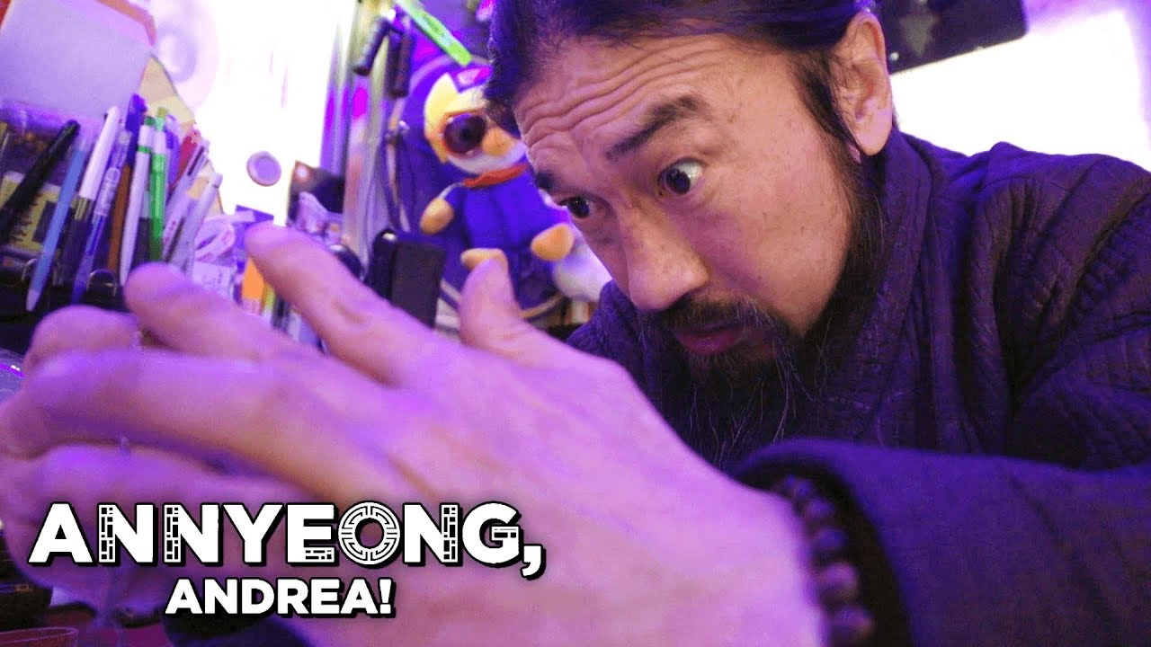 Fortune Telling on the Streets of Korea | Annyeong, Andrea