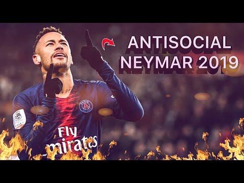 """Neymar Jr 2019 - Skills & Goals """"ANTISOCIAL"""" (Ed Sheeran & Travis Scott"""