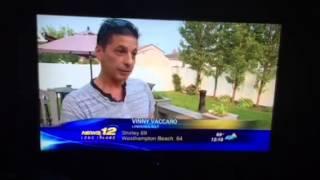 News 12 reports UFOs LINDENHURST NY July 4th 2015