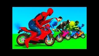 Человек Паук Автомобили Игры Супергерои Полиция Человек Паук Железный Человек Авто Молния Маккуин