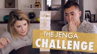 THE JENGA CHALLENGE w/ ELLIOTT MORGAN // Grace Helbig