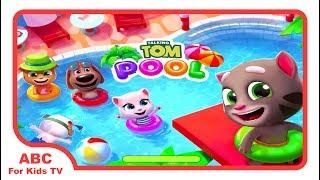 Talking Tom Pool Gameplay Walkthrough Episode 1 l ABC For Kids TV