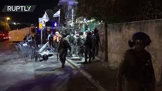 Clashes in East Jerusalem's Sheikh Jarrah leave at least 20 Palestinians injured