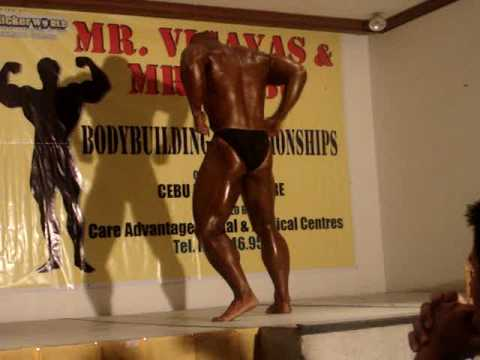 Mr. Cebu 2009 Champion performance