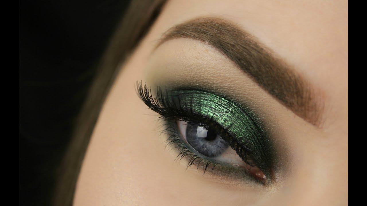 St Patricks Day Green Spotlight Smokey Eye Makeup Geek Youtube