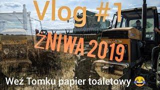 HIT SEZONU! Żniwa rzepaku 2019| vlog #1 |The best of ursus 1614 | na wesolo z teamem ursus na 2 koła