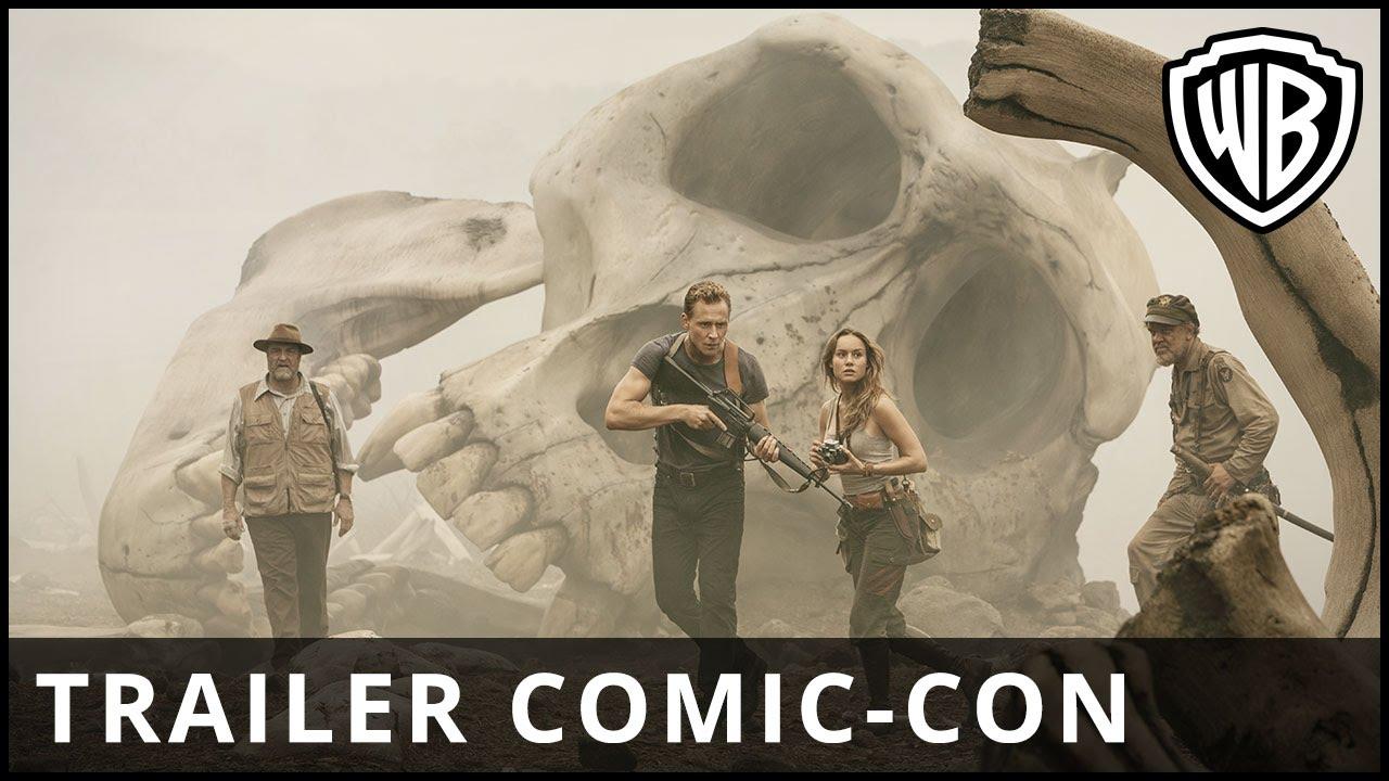 Kong A Ilha Da Caveira Trailer Comic Con Leg Hd
