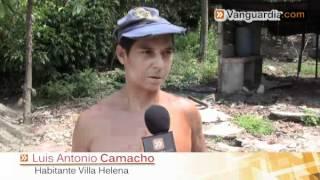 47 casas de Bosconia y Villa Helena están en peligro por el río Suratá