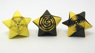 Origami Straw Star