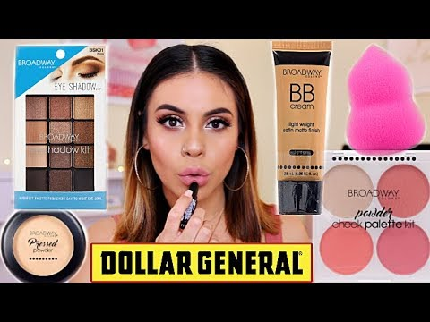 FULL FACE OF DOLLAR GENERAL MAKEUP: OMG SO MANY GOODIES UNDER $5! | JuicyJas