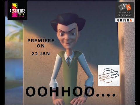"""Trailer Release of """"OOHHOO"""" A 3D Animation Short Movie made by ZICA Odisha Students"""