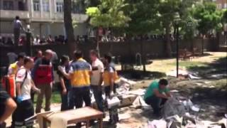 Explosion hits Sanliurfa province of Turkey