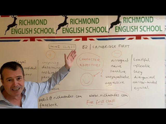 MINI CLASS WITH TOM! - B2 level grammar #2