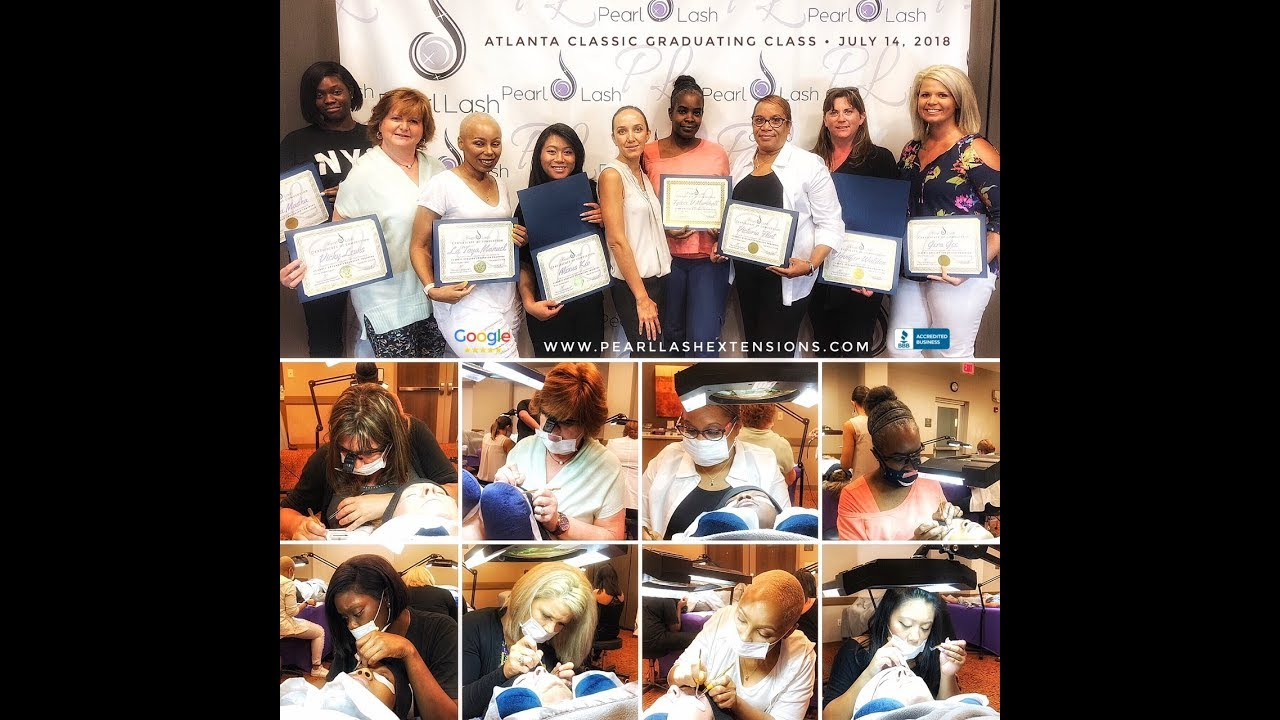 83aef875782 Pearl Lash Eyelash Extension Training Academy - YouTube