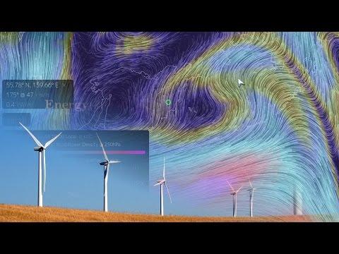 Wind Power Density | Earth Nullschool Tutorial (Part 4)