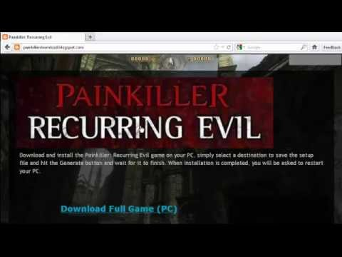 Painkiller Recurring Evil game + crack download