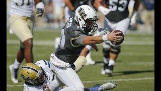 2018 American Football Highlights - #13 UCF 45, Pitt 14