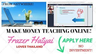 How to make money teaching english online - become a digital nomad work from anywhere