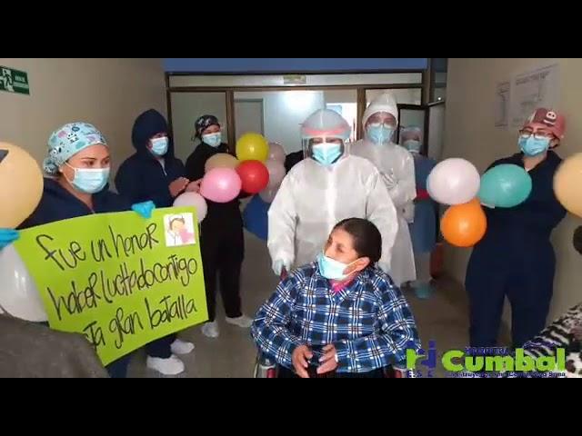 Superación a COVID-19 E.S.E. Hospital Cumbal