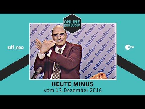heute- vom 13. Dezember 2016 | NEO MAGAZIN ROYALE mit Jan Böhmermann - ZDFneo