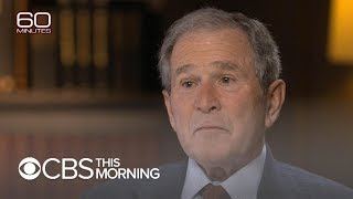 "George H.W. Bush ""gave us unconditional love,"" George W. Bush says"