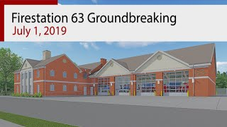 Germantown Fire Station 63 Ground Breaking