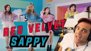 Guitarist Reacts to Red Velvet SAPPY レッドベルベッド MV Those CHORDS tho