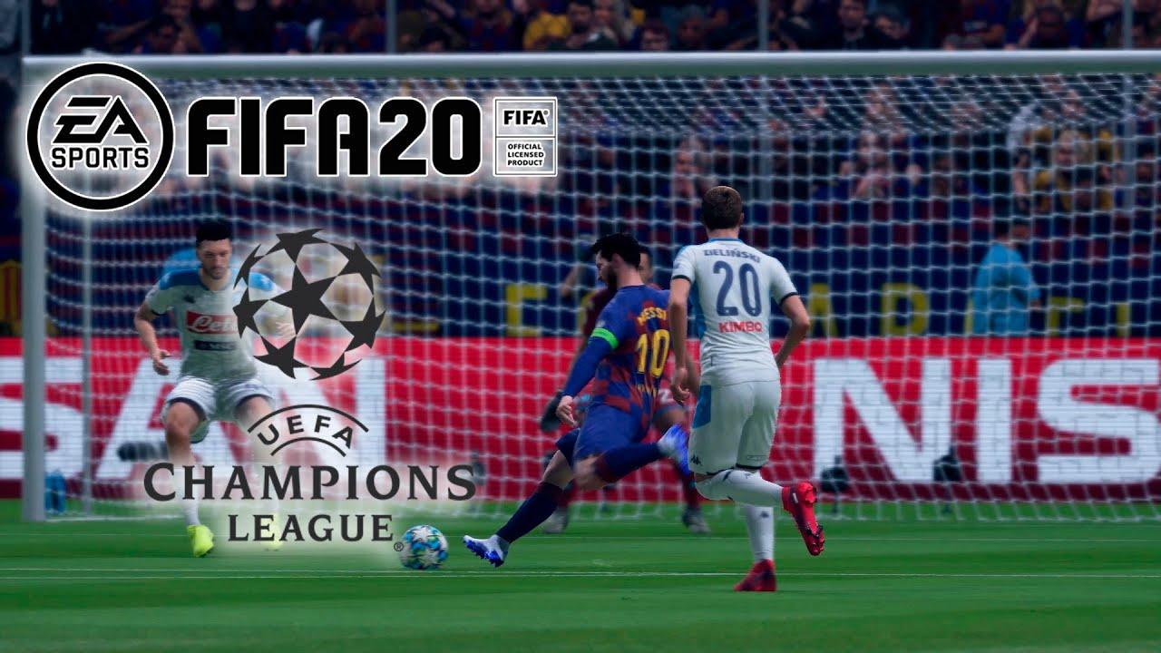 FIFA20 Champions: FC Barcelona- Napoles VR_JUEGOS