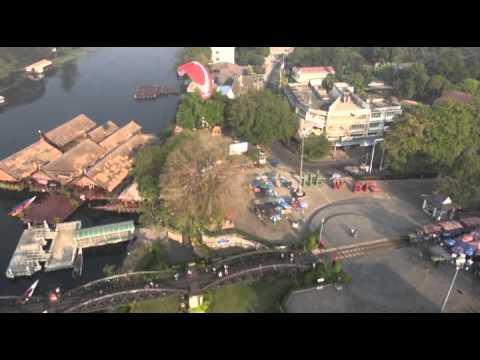 Skydance paramotor tour Thailand 2014