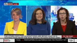 Sky News - 12 October 2017 - Building policy, sexualisation of women and girls