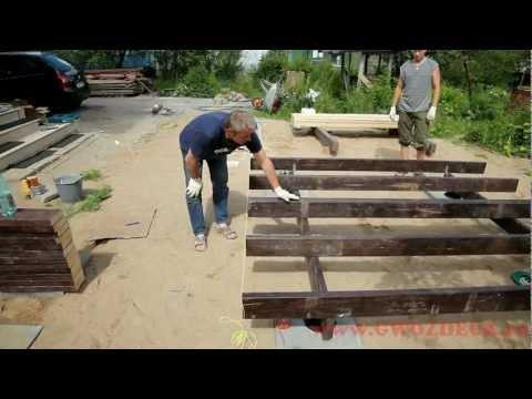 видео: Монтаж Террасы