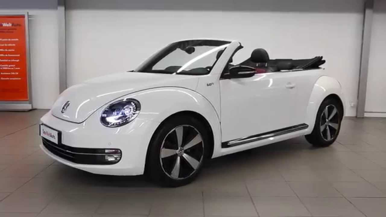 volkswagen coccinelle cabriolet occasion 1 4 tsi 160 s rie sp ciale 60 39 s edition dsg7 blanc 2555. Black Bedroom Furniture Sets. Home Design Ideas